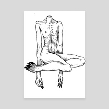 Long Limbs - Canvas by Batt batsuto