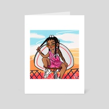 Ballin' - Art Card by Radiance Francois