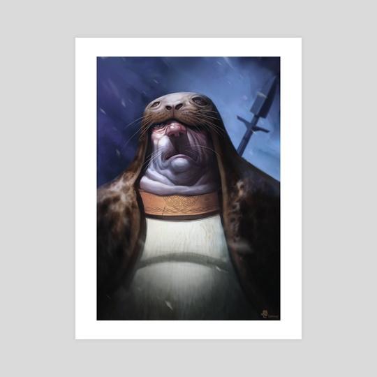 Seals Hunter by Richard Vatinel