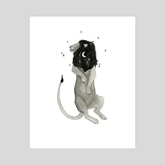 Lion | Artober 2020 by Noctualis