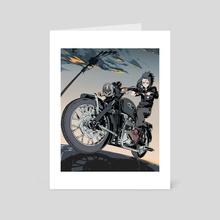 Triumph - Art Card by hello clonion