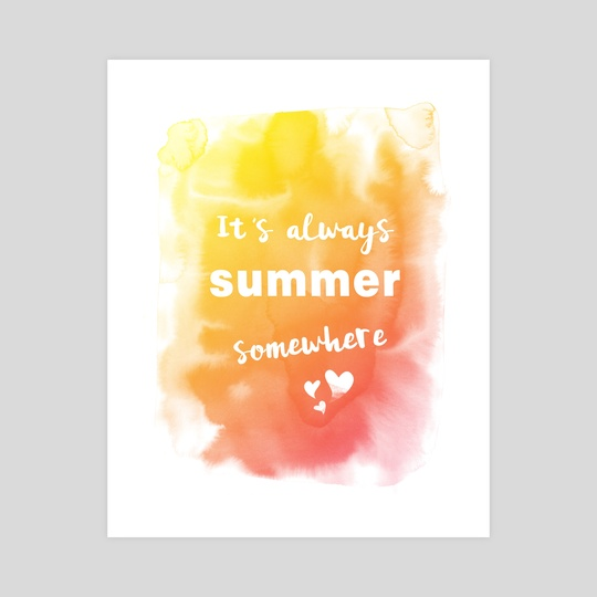 Always summer by e Drawings38