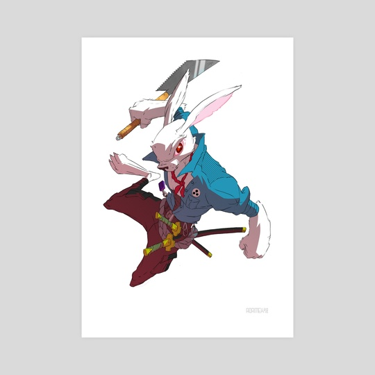 Usagi Yojimbo by Adam du Shole