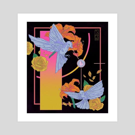 Lovebirds by Xavier  Jones