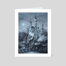 Castle - Art Card by Lily Morran