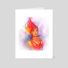 Flame Princess - Art Card by Sukesha Ray