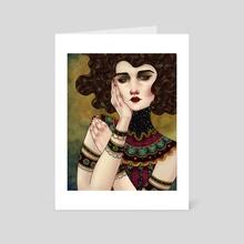 Judith - Art Card by Fernanda Maya