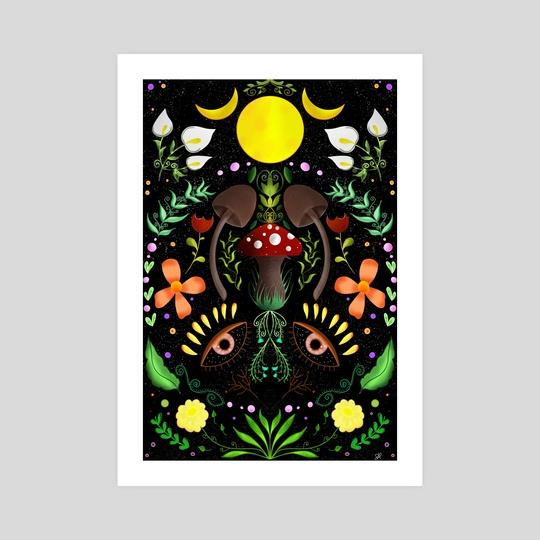 Magical Forest  by Sara Di Lella