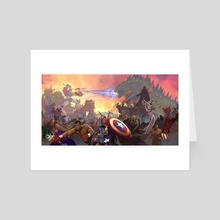 Battle Royal - Art Card by Andros Martinez