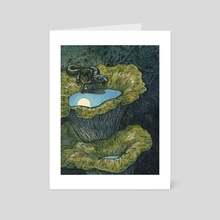 Night Rambler - Art Card by Emily Poole