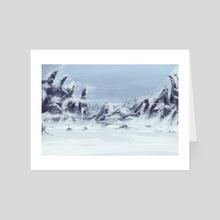 Antarctica - Art Card by Sady M. Izé