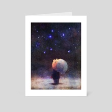Stargazing - Art Card by Brandon James Scott