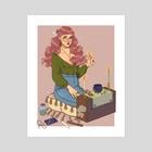 Sabbat - Art Print by Keely Parks