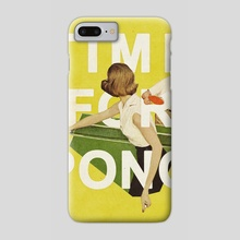 Time for Pong - Phone Case by Heather Landis