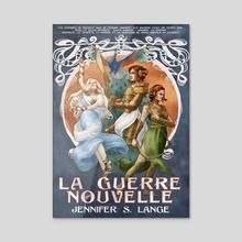 La Guerre Nouvelle - Acrylic by Jennifer Lange