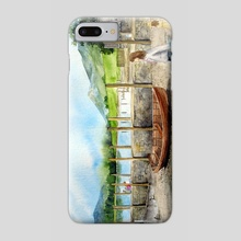 Day out at Derwent Water - Phone Case by Farida Greenfield