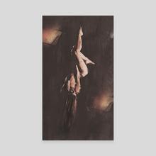 Suspend Aerial Modern Dance - Canvas by Galen Valle
