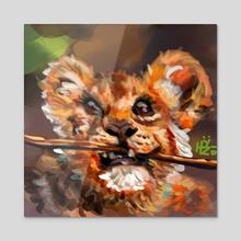 Simba, Lion Cub - Acrylic by HYZO