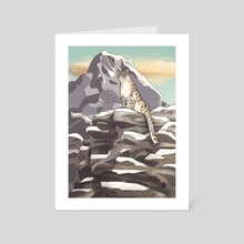 Mountain Adventure - Art Card by Melissa Jan