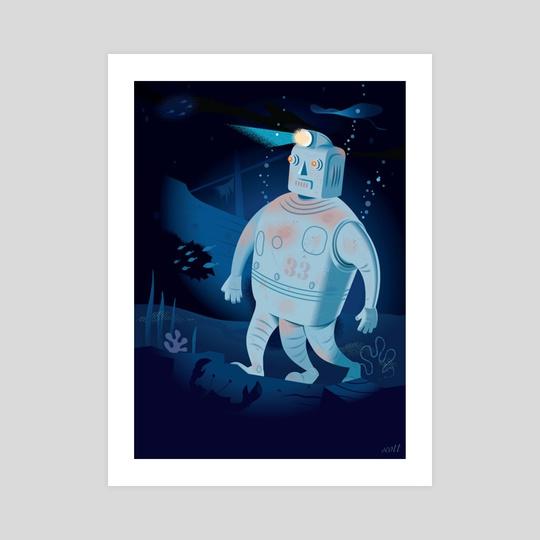 Undersea Robot   by Bob Scott