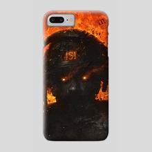Fahrenheit 451 - Phone Case by Dark Crayon