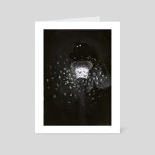 Mothman - Art Card by Dillon Samuelson