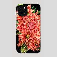 Life Cycle of a Dahlia - Phone Case by Liv