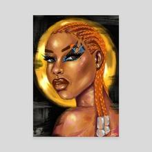 Anwuli The Veteran - Canvas by Nengi Uranta