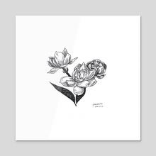 jasmine - Acrylic by kathi ha