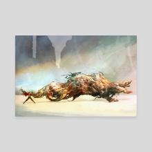 Tetsuo Shima - Canvas by Aaron Nakahara