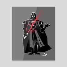 Vader - Force Choke - Acrylic by Shane Houston