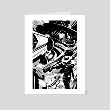 HIGH NOON - Art Card by Batsky