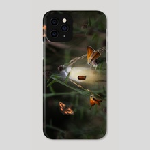 Butterfly fairy - Phone Case by Christina Groth-Biswas