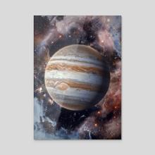 Jupiter - Acrylic by Marischa Becker