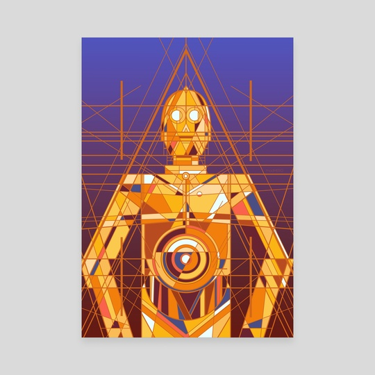 Deco Threepio by Josh S