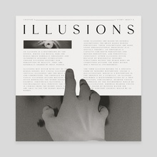 Illusions - Canvas by Alex Herbaut