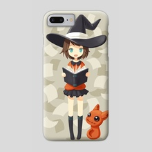 Little Witch 2 - Phone Case by Indré Bankauskaité