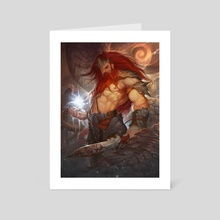Demon Killer - Art Card by Yanmo Zhang
