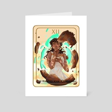 the hanged man - Art Card by chance