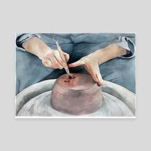 Potter - Canvas by Jenna Kessler