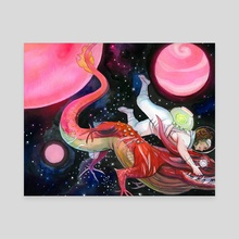 Monster Wrangler - Canvas by Suzi Spooner