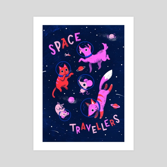 Space Travellers by Susann Hoffmann