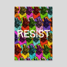 Resist by Sophia Parsons Cope - Canvas by Artists for the People