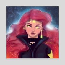 Wanderer - Canvas by Sherina Chin