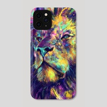 Primordial Gaze - Phone Case by Anthony Aves