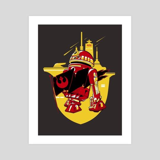 R2D2 (yellow) by Denis Shevchenko