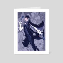 Bayonetta - Art Card by Bruno Freire