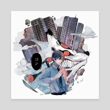KON - Canvas by FlonHaru