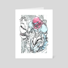 Fusion Suit Samus  - Art Card by Ryan Barry