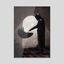 The Child - Acrylic by Shana Fierce